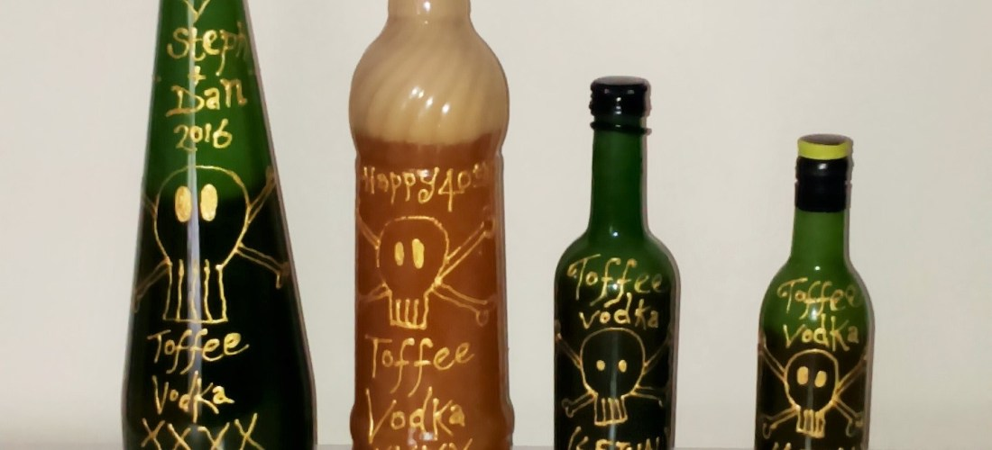 toffee vodka homemade recipe gift idea alcohol