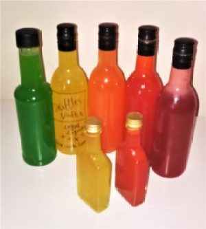 Skittles vodka for party