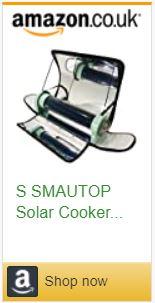 Solar oven sun cooker bbq grill bake heat