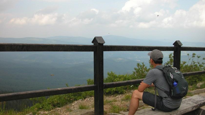 Descending Babia Góra