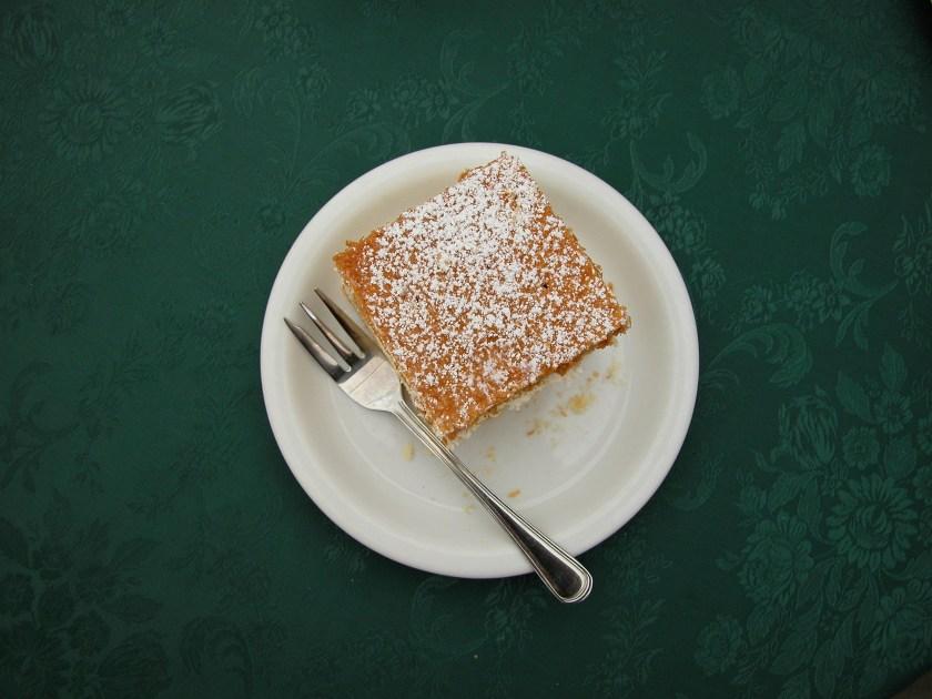 Kremowki: a dessert served in Wadowice