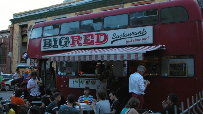 Big Red food truck