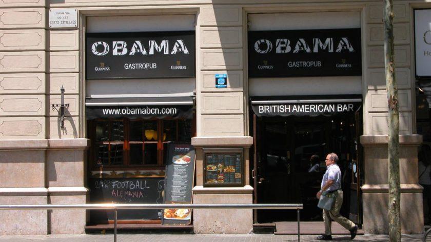 Obama British American Bar