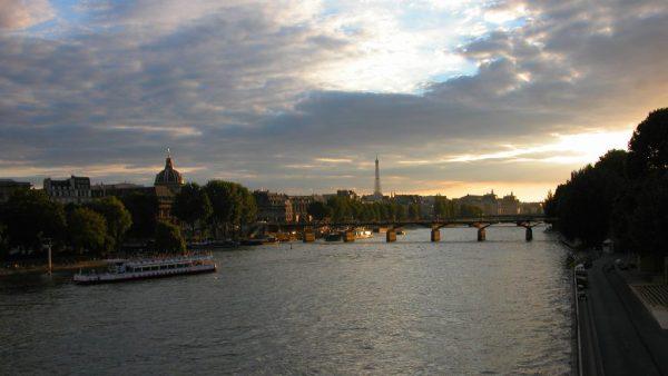 Paris sunset