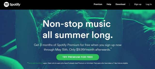 3 Months of Free Spotify