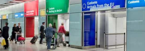London Heathrow Customs