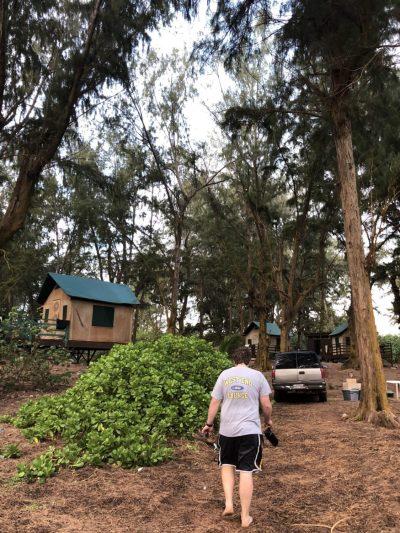 Camping on Kauai