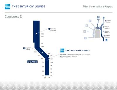 MIA Amex Centurion Lounge