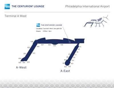 PHL Amex Centurion Lounge