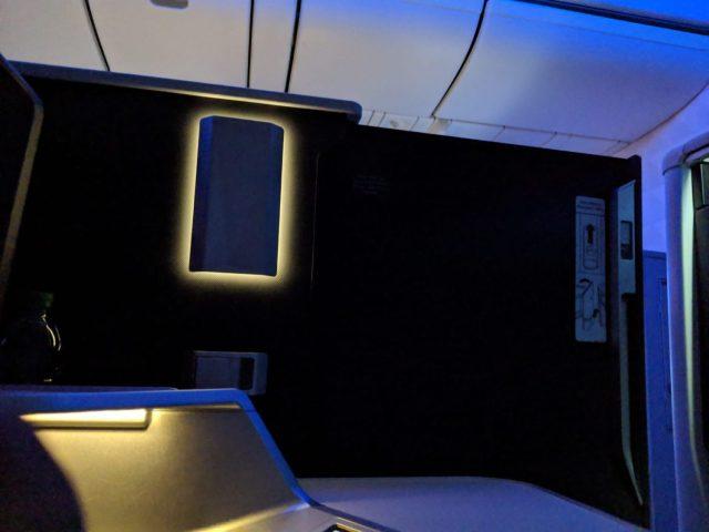Delta One Suite doors