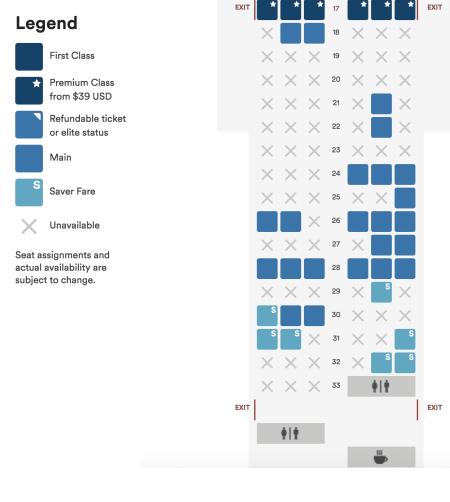 Alaska Airlines Basic Economy Seat Selection