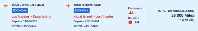 Hawaii flights