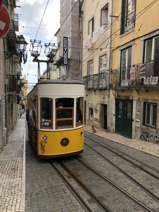 lisbon portugal funicular