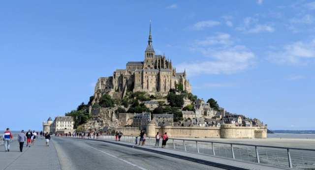 Mont-St.-MIchel Normandy France