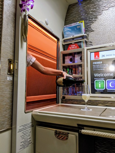 Emirates New 777 First Class