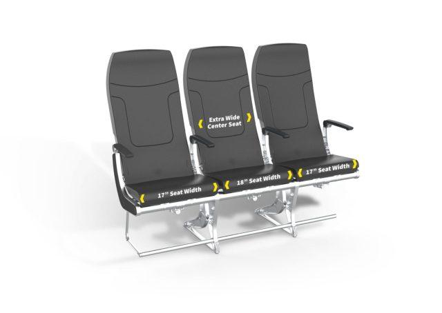 spirit new seats