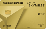 Gold Delta SkyMiles Card