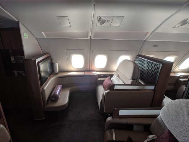 airbus a380 first class