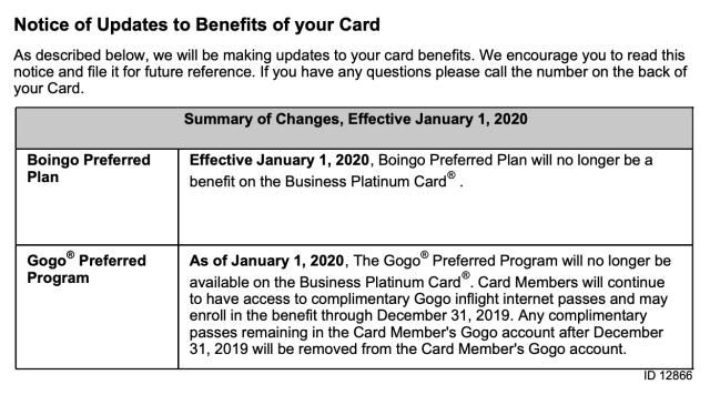 Business Platinum Gogo Credit