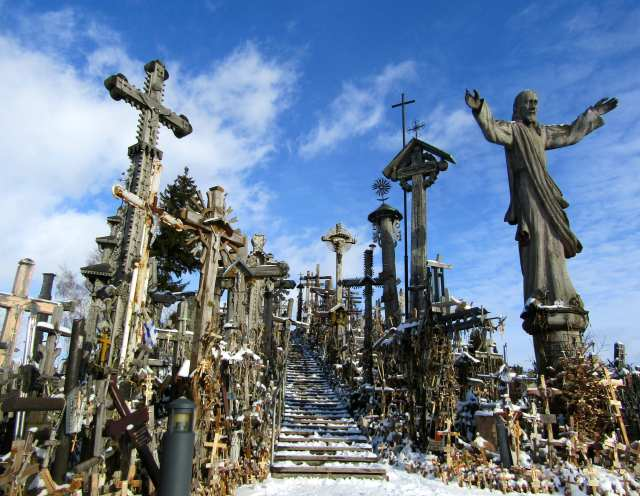 Hill of Crosses Lithuania Eastern Europe