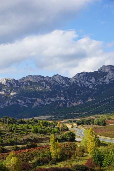 landscape la rioja spain