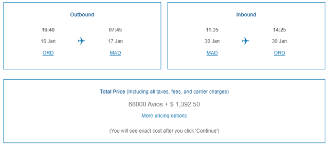 iberia business class availability