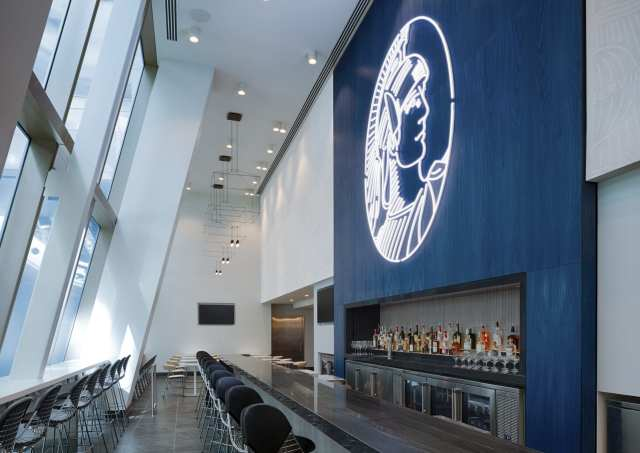 Complimentary Full Bar at Centurion Lounge at LAX scaled e1600263257366