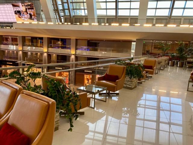 Emirates Lounge Terrace