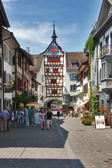 Snapshot Stein am Rhein with Kids  Thrifty Travel Mama