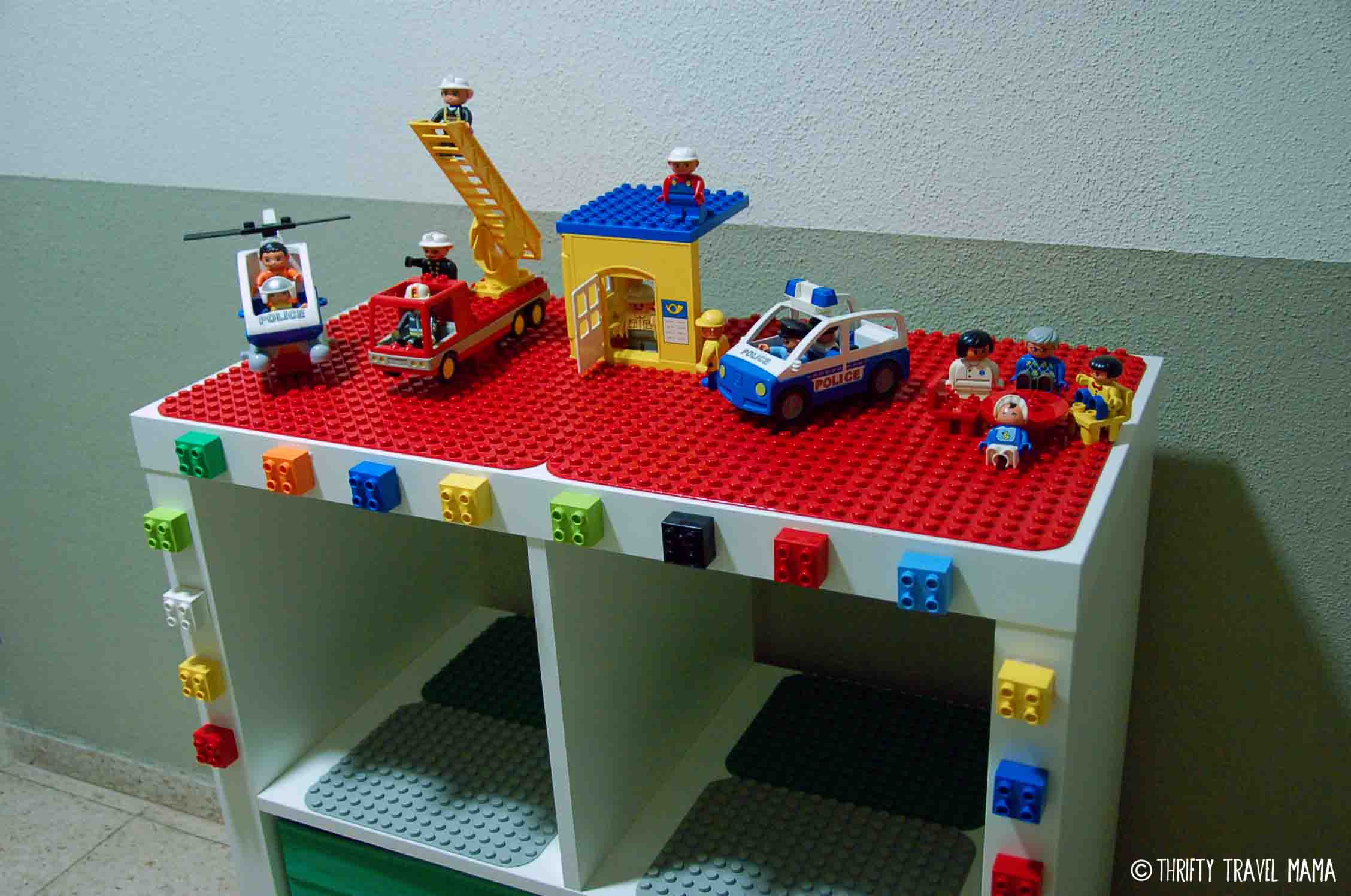 Ikea Hack Expedit Lego Duplo Table With Storage Thrifty