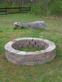Our Homemade Fire Pit - Tshanina Peterson