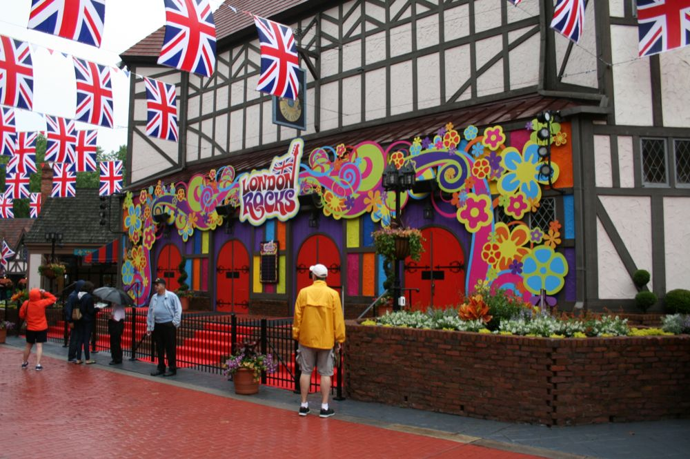 Upon Entering Busch Gardens Williamsburg Regular Guests Can Tell Something  Is Going On. British Flags Hang Over The Sidewalks, 60u0027s British Rock Has  ...