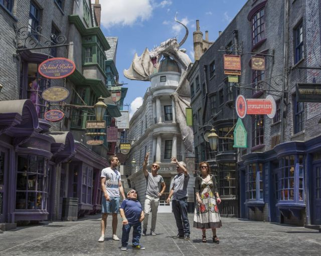 Harry Potter Stars Tour Diagon Alley