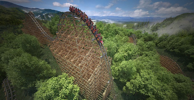Dollywood announces Lightning Rod, World's Fastest Wood Roller Coaster For 2016 5