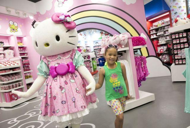 Hello Kitty Store Merch interior  Talent  Character Aven