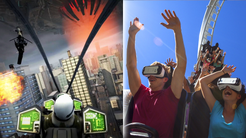 Six Flags and Samsung Partner to Launch First Virtual Reality Roller Coasters in North America 1