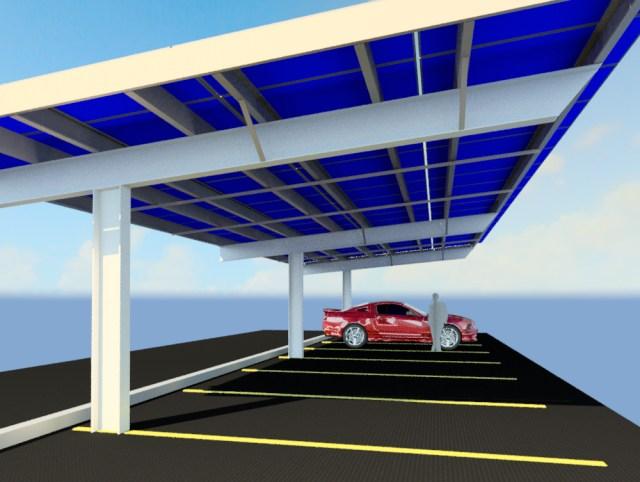 LEGOLAND covered parking