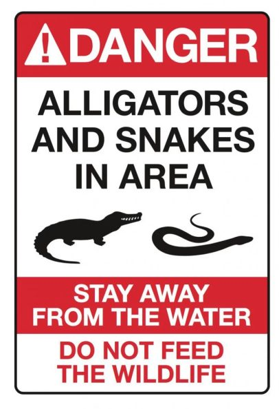 Disney Gator Sign