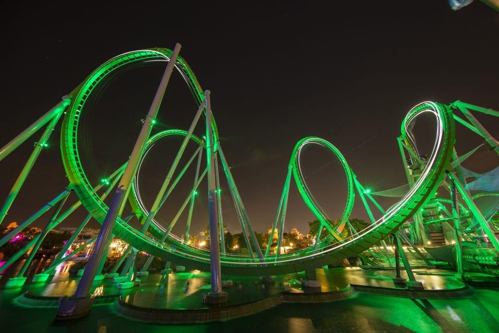 Image result for hulk roller coaster