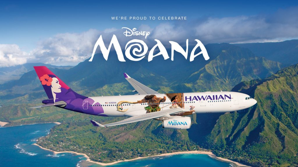 Dwayne Johnson Quotes Wallpaper Hawaiian Airlines Unveils New Quot Moana Quot Themed Planes