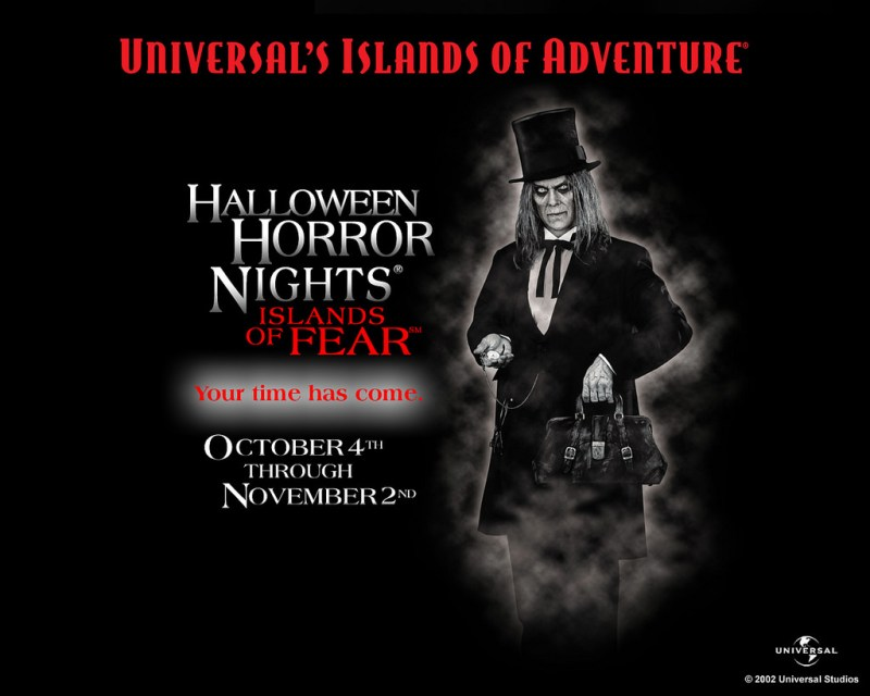The Caretaker from Halloween Horror Nights 12