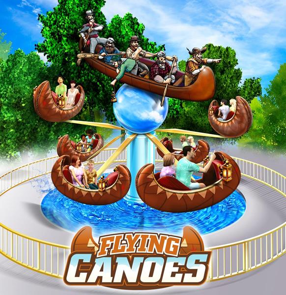 Flying Canoes coming to Canada's Wonderland in 2018