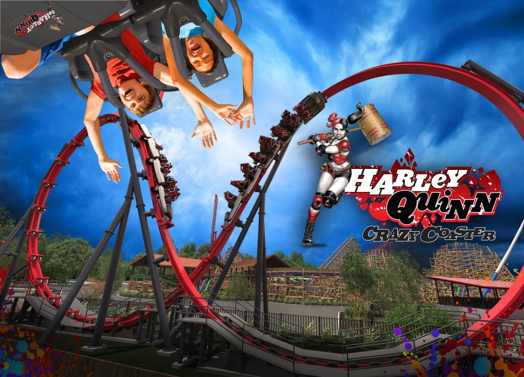 HARLEY QUINN Crazy Coaster to Debut at Six Flags Discovery Kingdom