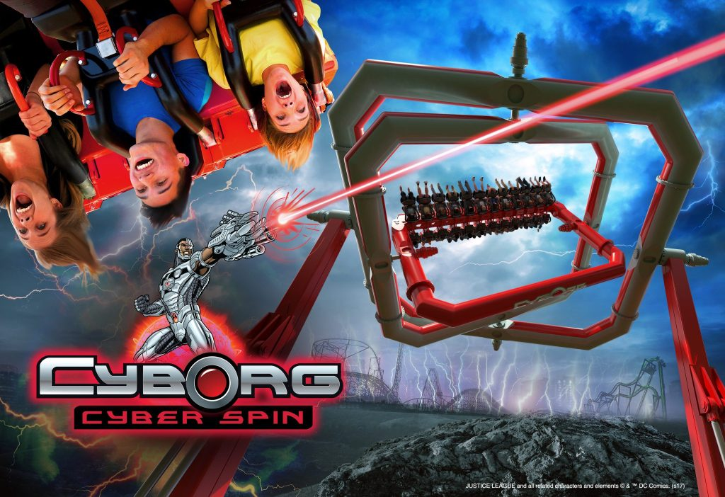 CYBORG Cyber Spin coming to Six Flags Great Adventure in 2018
