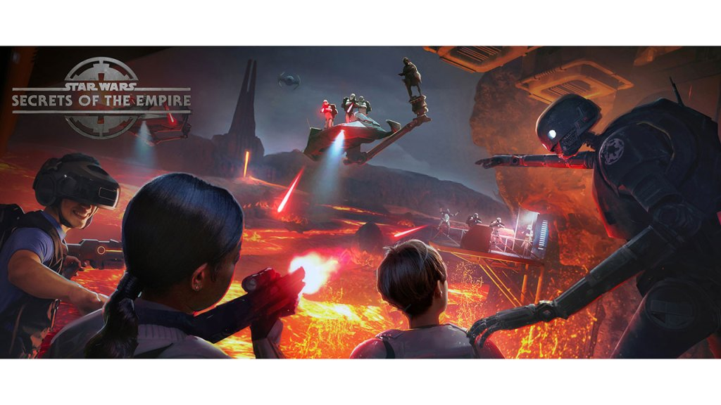 Star Wars: Secrets of the Empire hyper-reality experience coming to Disneyland and Walt Disney World