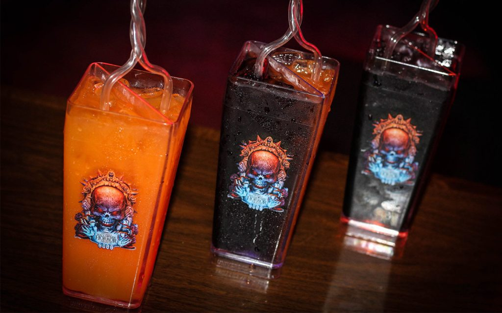 Mixed drinks available at HHN 27 this year