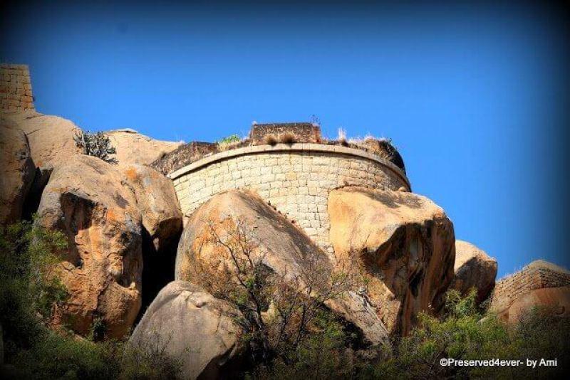 Watch Tower at Chitradurga Fort