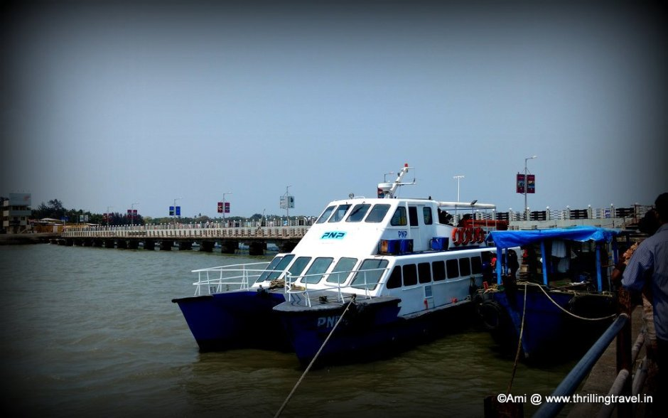 Our Ferry at Mandwa Jetty, Alibaug