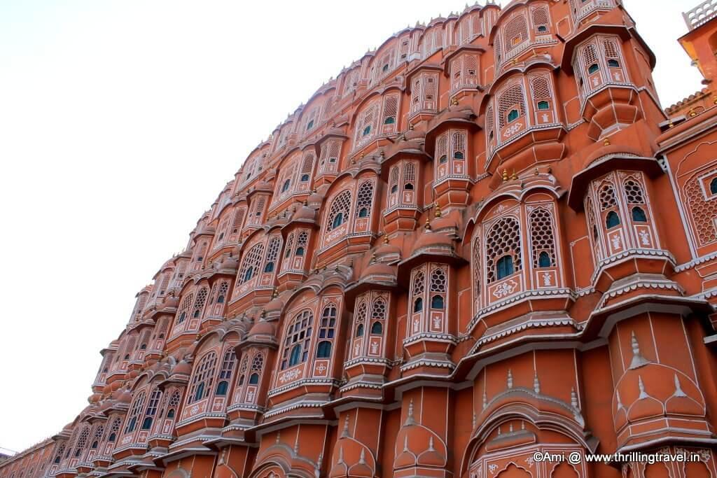 Hawa Mahal within 4 - 5kms from Bani Park, Jaipur