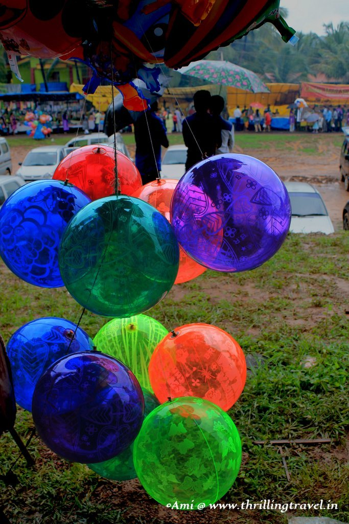 Happy Balloons at Touxeachem Feast